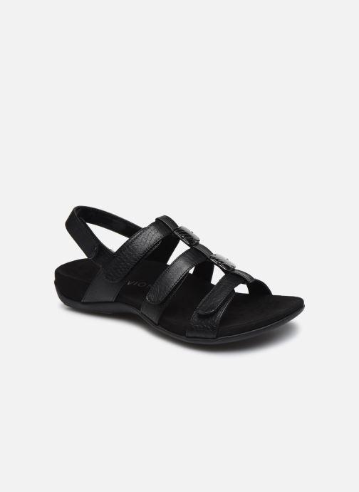 Sandales et nu-pieds Vionic Amber Noir vue détail/paire