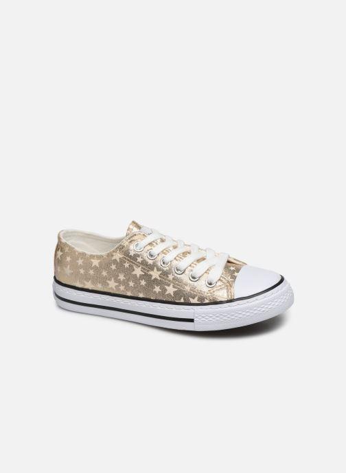 Sneakers Conguitos Matalizado Estrellas Sølv detaljeret billede af skoene