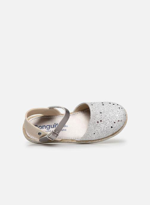 Scarpe di corda Conguitos Glitter Argento immagine sinistra
