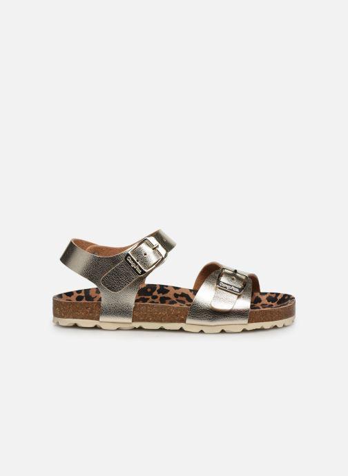 Sandales et nu-pieds Conguitos Metalizado Or et bronze vue derrière