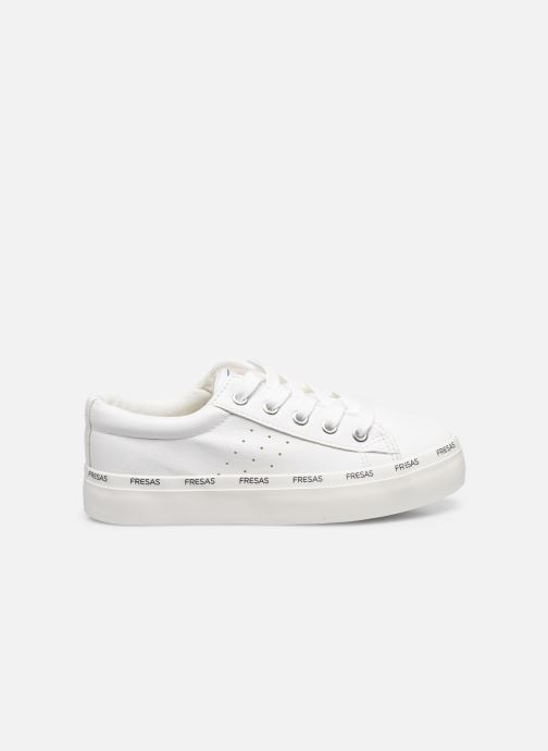 Sneakers Fresas by Conguitos Napa Bianco immagine posteriore