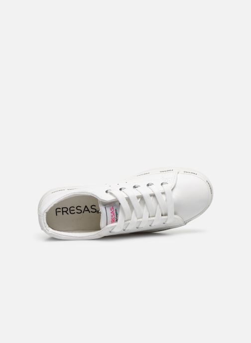 Sneakers Fresas by Conguitos Napa Bianco immagine sinistra