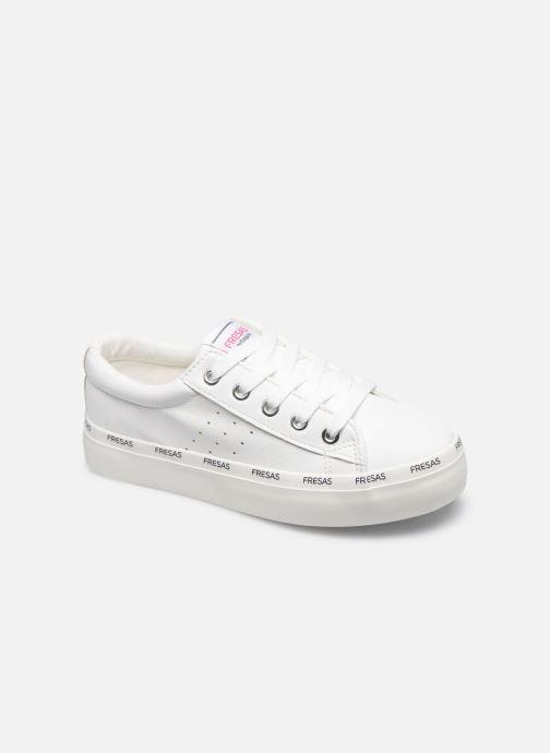 Sneakers Fresas by Conguitos Napa Bianco vedi dettaglio/paio