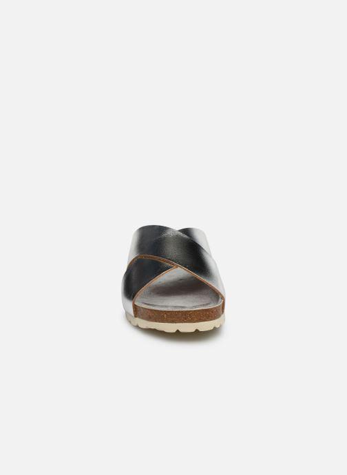 Sandales et nu-pieds Fresas by Conguitos Mule Metalizado Argent vue portées chaussures
