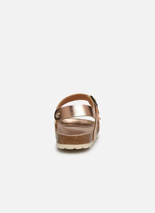 Sandales et nu-pieds Fresas by Conguitos Sandal Metalizado Argent vue droite