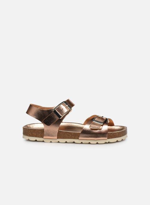 Sandales et nu-pieds Fresas by Conguitos Sandal Metalizado Argent vue derrière