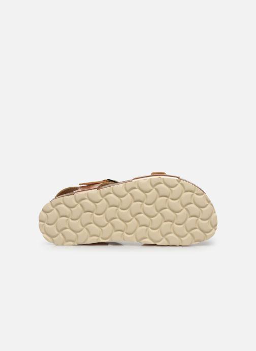 Sandalen Fresas by Conguitos Sandal Metalizado silber ansicht von oben