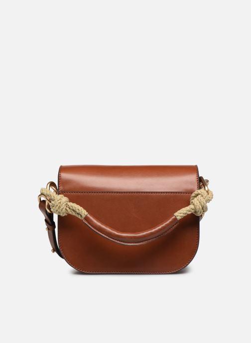 Handtaschen Vanessa Bruno Holly Besace braun ansicht von vorne