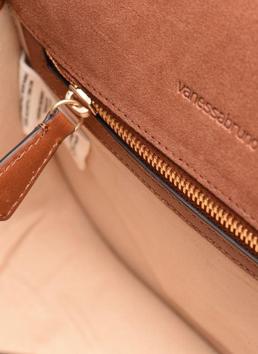 Handtaschen Vanessa Bruno Holly Besace braun ansicht von hinten