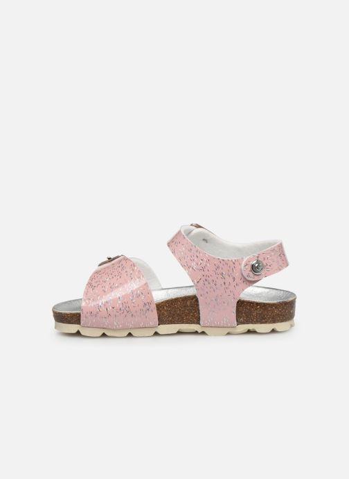 Sandalen Osito by Conguitos Chispeado rosa ansicht von vorne