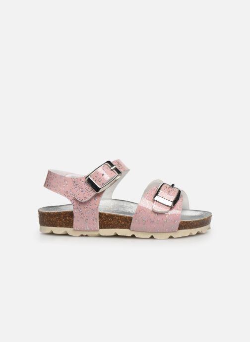 Sandalen Osito by Conguitos Chispeado rosa ansicht von hinten
