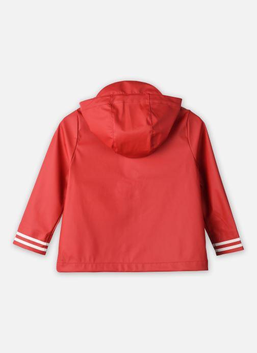 Vêtements Aigle Dolixo Rouge vue portées chaussures