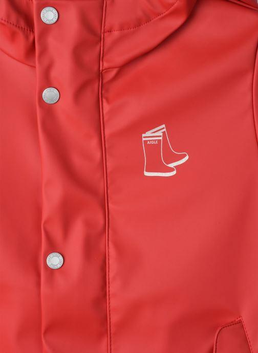 Vêtements Aigle Dolixo Rouge vue face