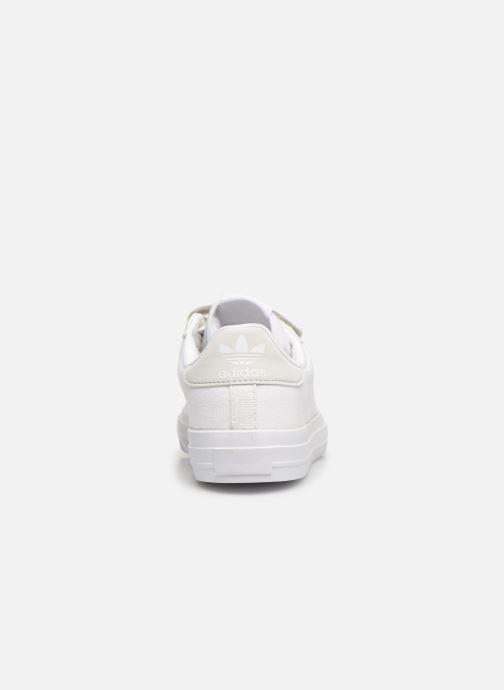 Sneakers adidas originals Continental Vulc Cf C Bianco immagine destra