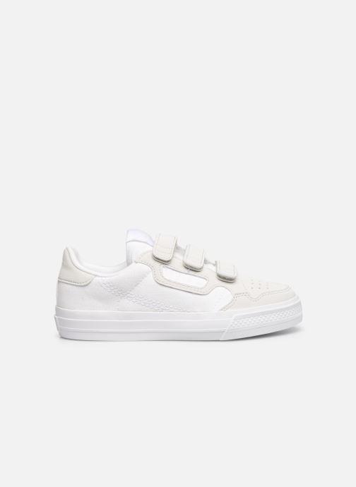 Baskets adidas originals Continental Vulc Cf C Blanc vue derrière