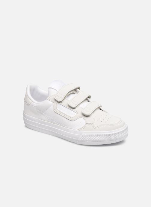 Baskets adidas originals Continental Vulc Cf C Blanc vue détail/paire