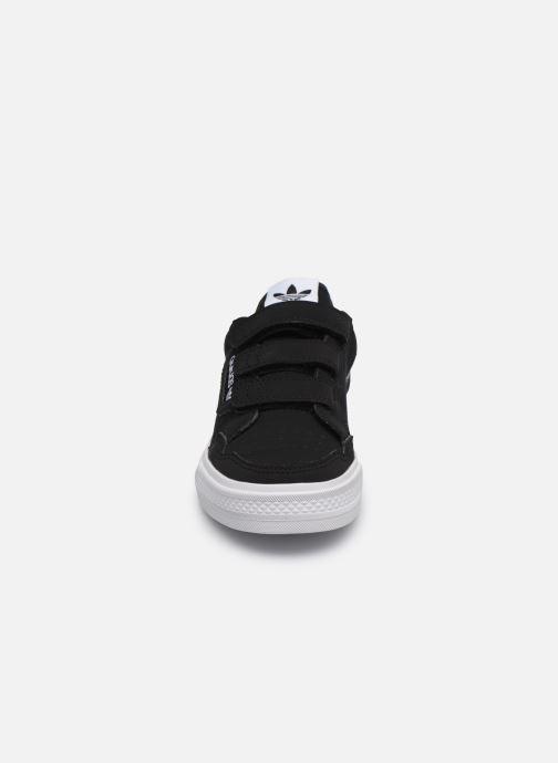 Baskets adidas originals Continental Vulc Cf C Noir vue portées chaussures