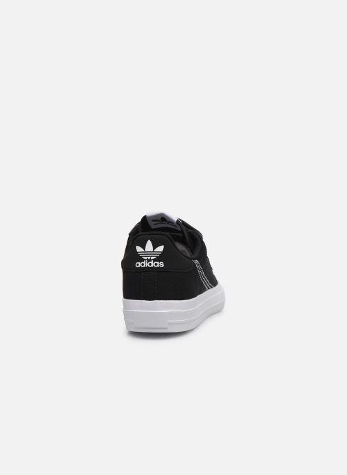 Baskets adidas originals Continental Vulc Cf C Noir vue droite