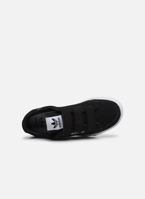Baskets adidas originals Continental Vulc Cf C Noir vue gauche