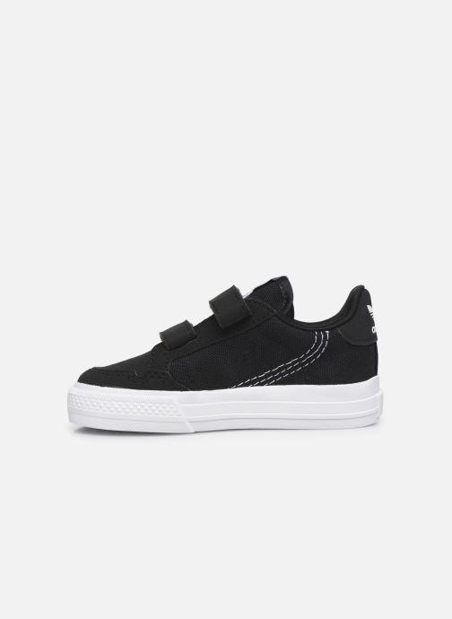 Sneakers adidas originals Continental Vulc Cf I Zwart voorkant