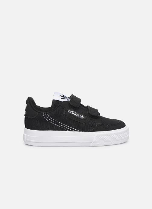 Sneakers adidas originals Continental Vulc Cf I Zwart achterkant