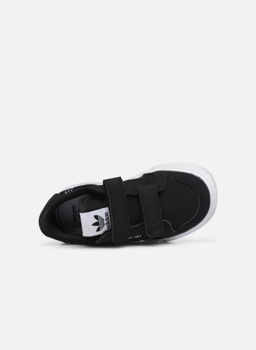 Sneakers adidas originals Continental Vulc Cf I Sort se fra venstre