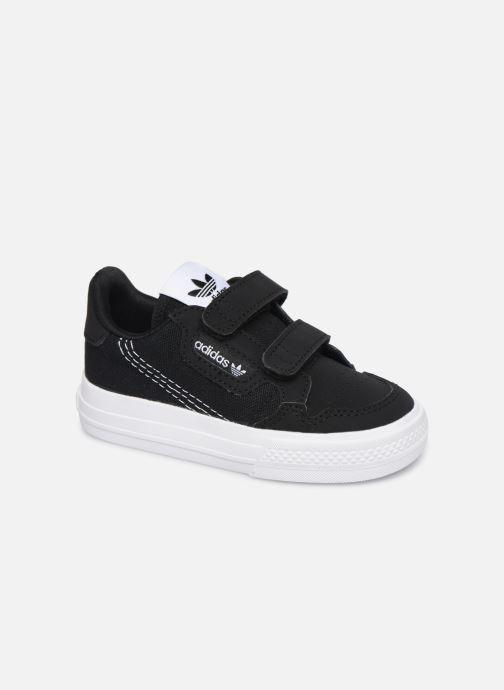 Sneakers adidas originals Continental Vulc Cf I Sort detaljeret billede af skoene