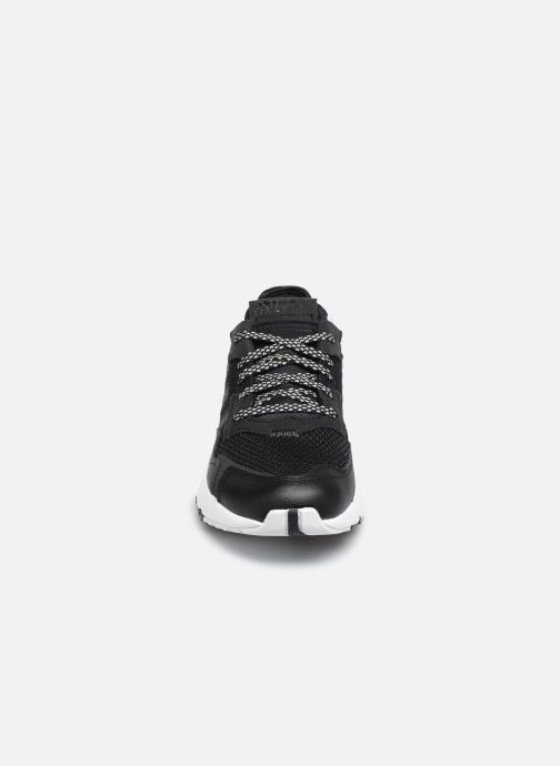 adidas originals Nite Jogger C (Noir) Baskets chez Sarenza