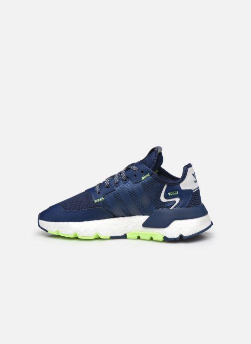 Sneakers adidas originals Nite Jogger J Blauw voorkant