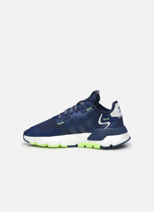 Sneakers adidas originals Nite Jogger J Azzurro immagine frontale