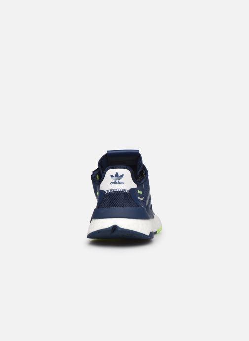 Sneakers adidas originals Nite Jogger J Blauw rechts