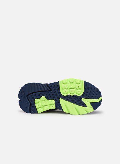 Sneakers adidas originals Nite Jogger J Azzurro immagine dall'alto