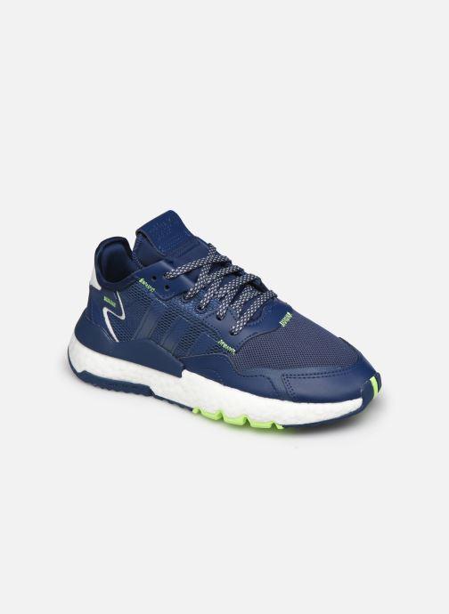 Sneakers adidas originals Nite Jogger J Blauw detail