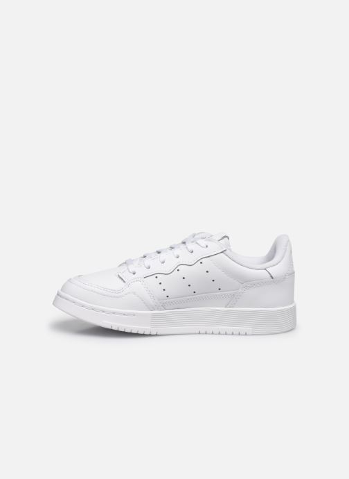 Sneaker adidas originals Supercourt C weiß ansicht von vorne