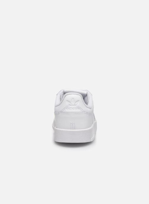 Sneaker adidas originals Supercourt C weiß ansicht von rechts