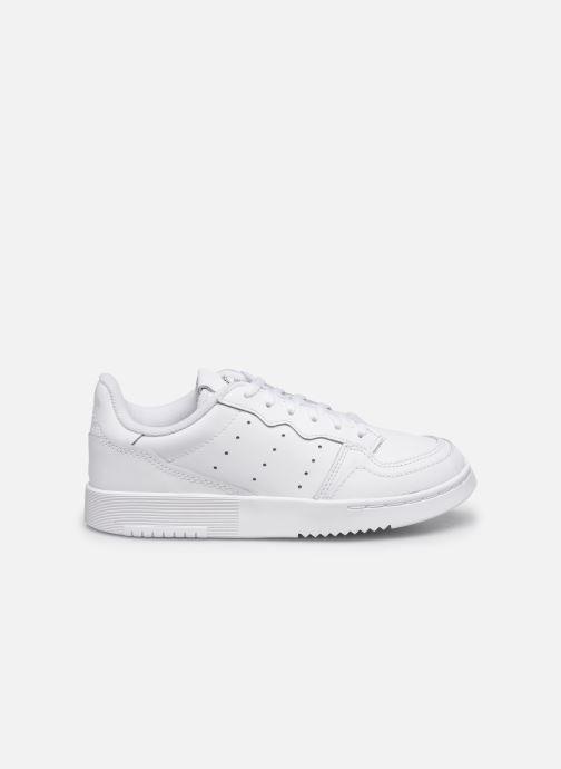 Sneaker adidas originals Supercourt C weiß ansicht von hinten