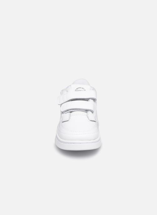 Baskets adidas originals Supercourt Cf I Blanc vue portées chaussures