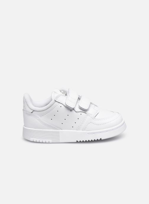 Baskets adidas originals Supercourt Cf I Blanc vue derrière