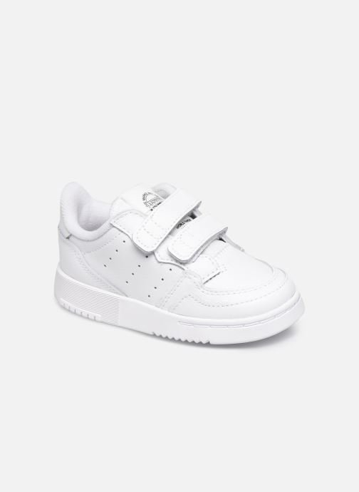 Baskets adidas originals Supercourt Cf I Blanc vue détail/paire