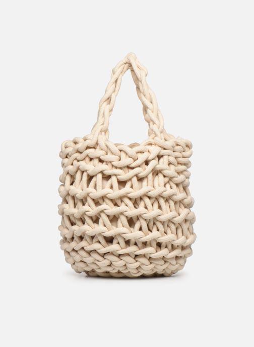 Sacs à main Alienina Tea Bag Beige vue détail/paire