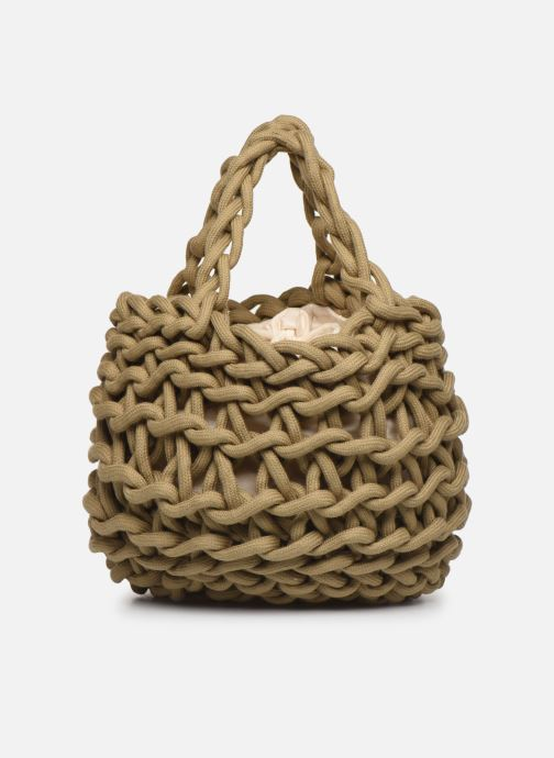 Sacs à main Alienina Tea Bag Marron vue face
