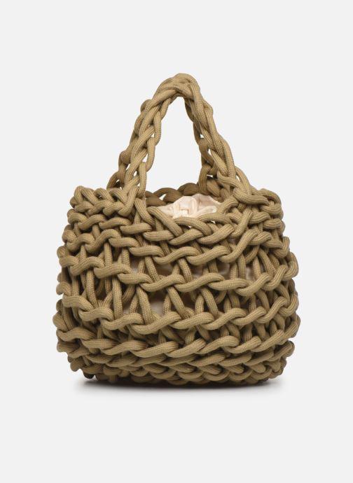 Borse Alienina Tea Bag Marrone immagine frontale