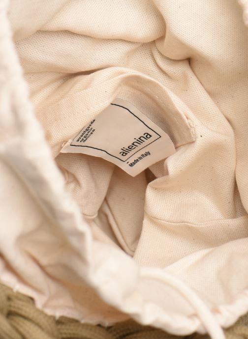 Borse Alienina Tea Bag Marrone immagine posteriore