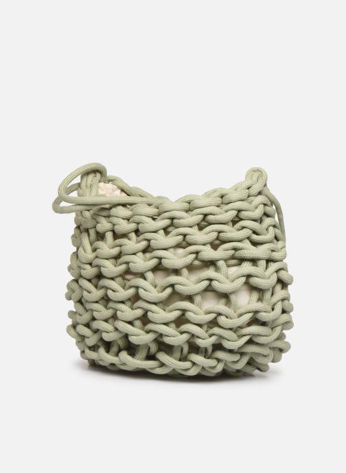 Sacs à main Alienina Kati Bag Vert vue portées chaussures