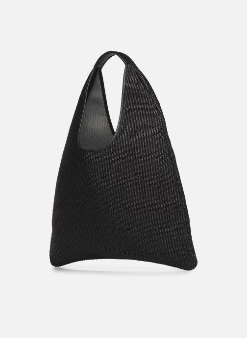 Handtassen Arron Hobo Medium Rafia Zwart model