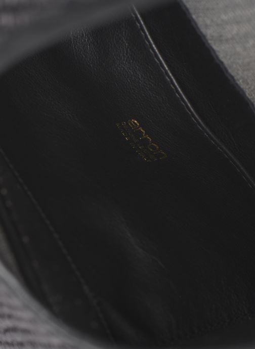 Handtassen Arron Hobo Medium Rafia Zwart achterkant
