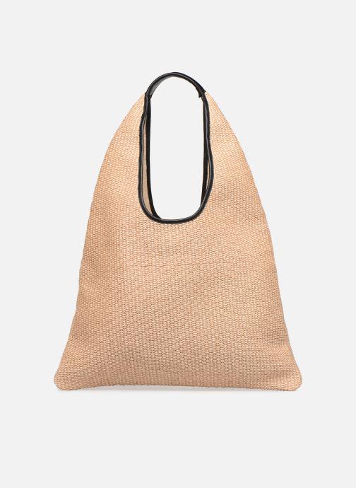 Handtaschen Arron Hobo Medium Rafia beige ansicht von vorne
