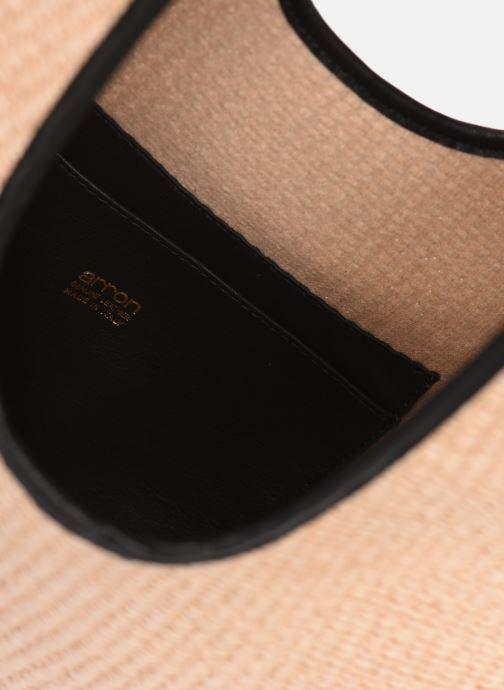 Borse Arron Hobo Medium Rafia Beige immagine posteriore