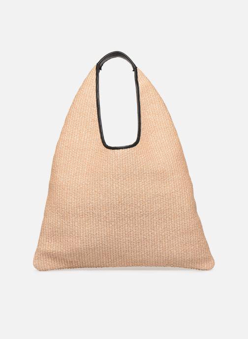 Handtaschen Arron Hobo Medium Rafia beige detaillierte ansicht/modell