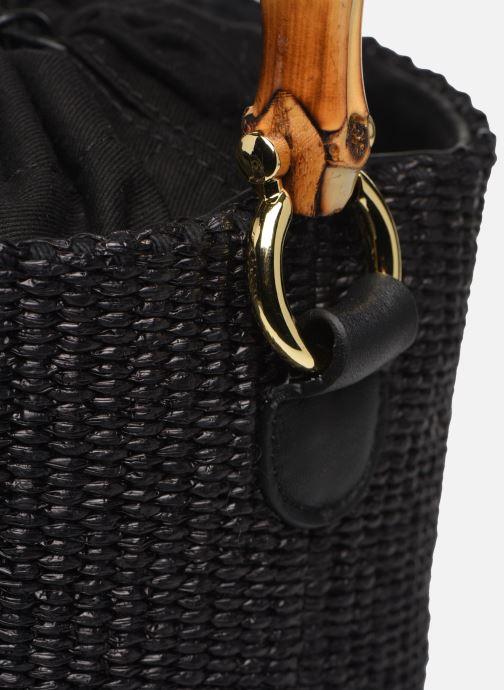 Sacs à main Arron Bucket Bag Noir vue gauche